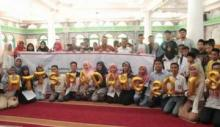Memperingati Hari Tanpa Tembakau Sedunia di Padang Diisi dengan Pertunjukan Wayang