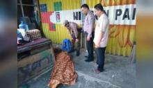 Penemuan Mayat Pria di Belakang Warung, Warga Muaro Kalaban Sawahlunto Geger