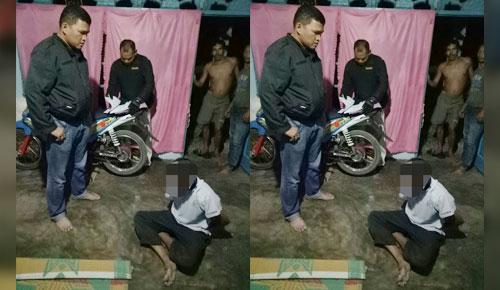 Diduga Cabuli Anak di Bawah Umur, Pria Tanah Datar Ini Berusaha Kabur Saat Ditangkap Polisi