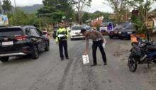 Tabrakan Sesama Sepeda Motor di Padang Panjang, Satu Meninggal di Tempat
