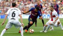Libas Huesca 8-2, Barcelona Geser Madrid di Puncak Klasemen