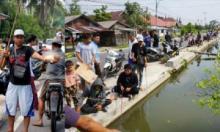 Karang Taruna Sungai Pasak Pariaman Manfaatkan Saluran Irigasi Sebagai Tempat Pancing
