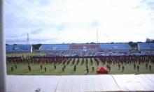 Bupati Bersama Ribuan Guru Peringati HGN Di Sport Center Dharmasraya