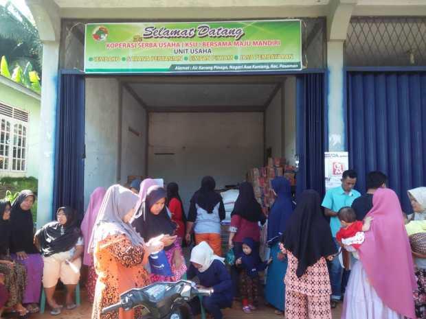 Sama-sama Berkeinginan Memiliki Usaha Bersama, Puluhan Masyarakat Aua Kuniang Pasbar Bentuk KSU