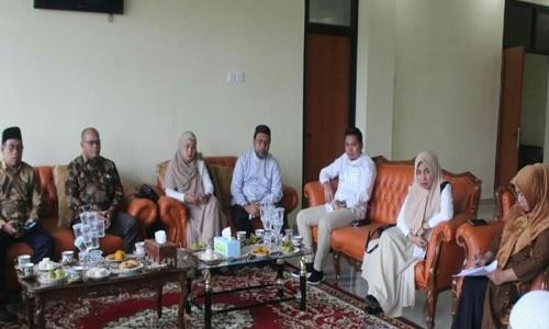 Komisi II DPRD Kabupaten Kampar Studi Tiru Pendidikan ke Padang Panjang
