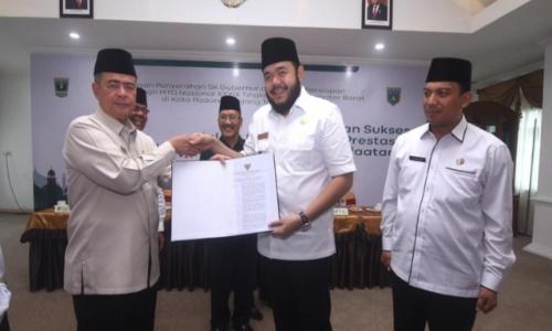 Padang Panjang Tuan Rumah MTQ Provinsi Tahun 2021