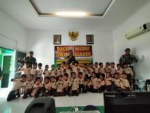 TKIT Mutiara Pariaman Kunjungi Kodim 0308, Para Siswa Dikenalkan Dengan Hal Ini