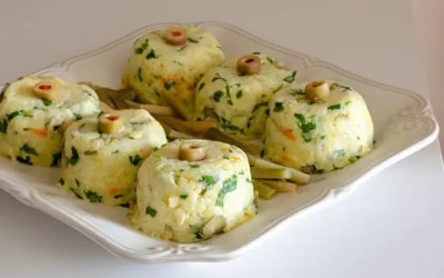 İçi Havuçlu Patates Salatası
