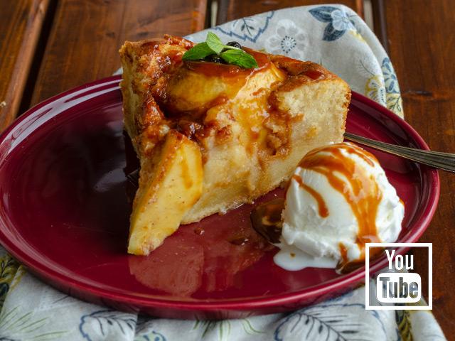 Elmalı Karamel Soslu Kek Tarifi