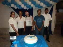 Preparação para Festa de Yom Hatzmaut na Nova SIB (3)