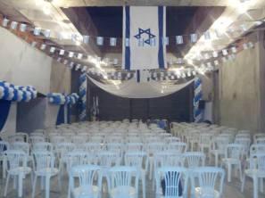 Preparação para Festa de Yom Hatzmaut na Nova SIB
