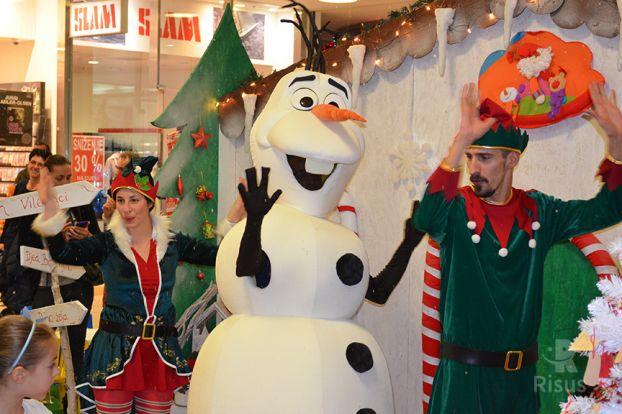 Olaf i vilenjaci plešu
