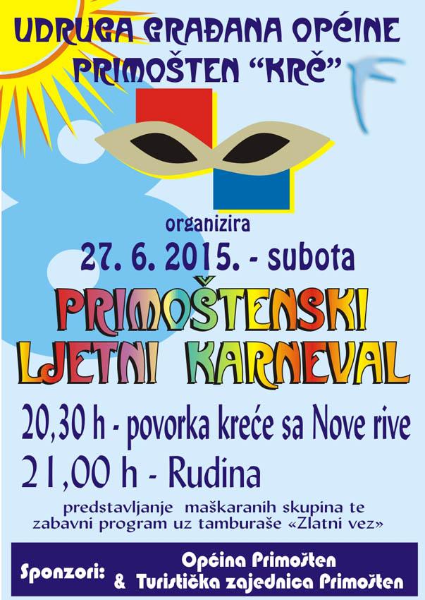 karneval primosten