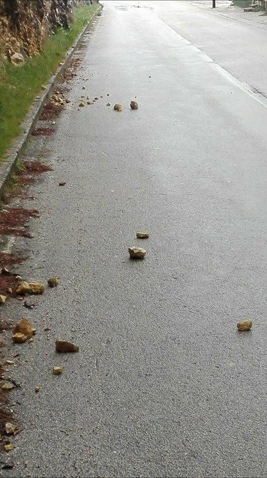 cesta zaton kamenje