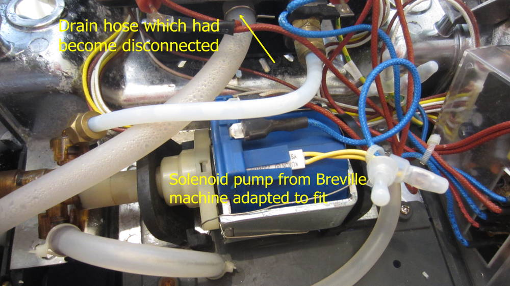Wiring Diagram For Fan Solenoid Electrical Electronic Issues Breville 800esxl Repair