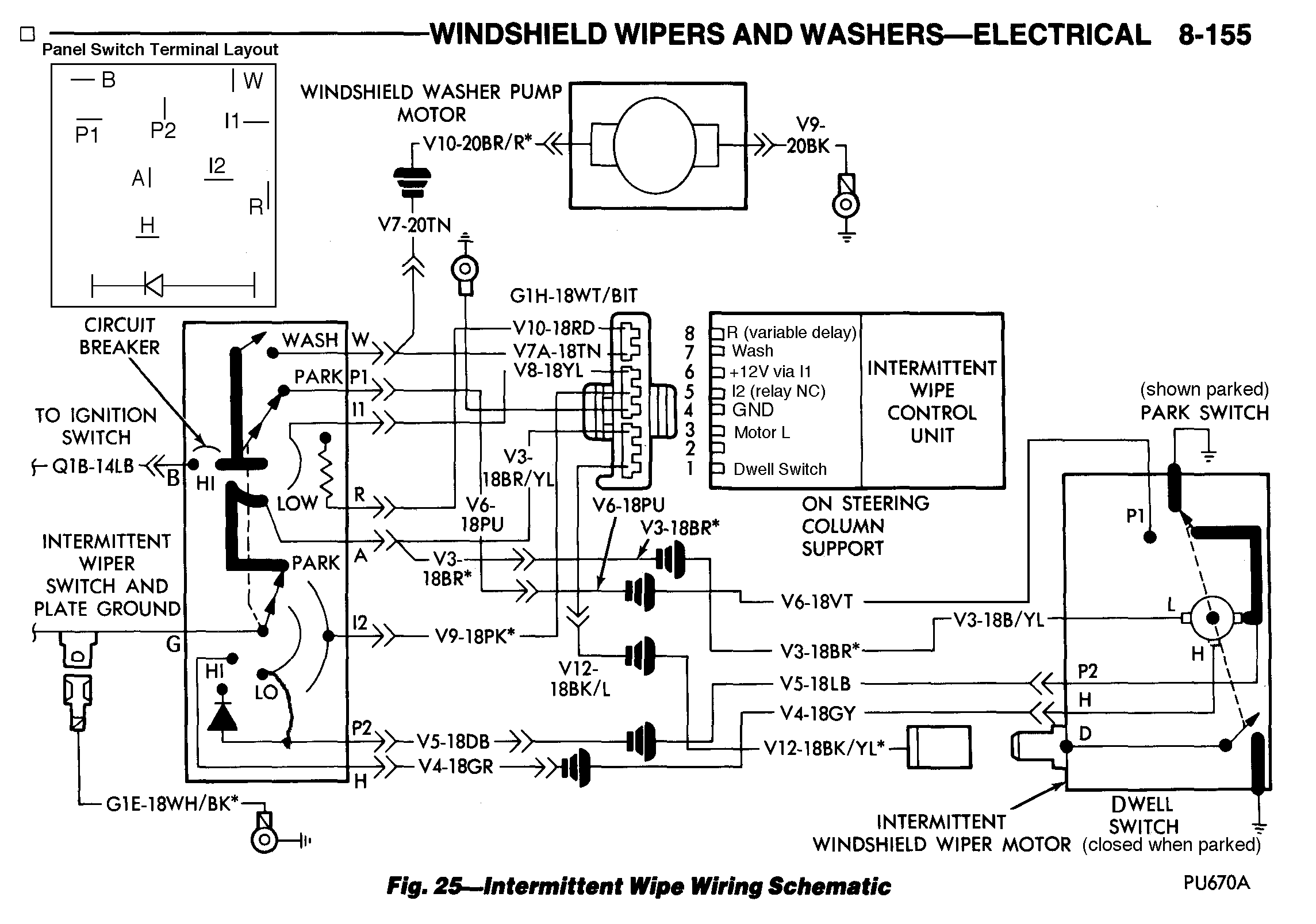 windshield wiper wiring diagram what is a plot of story chrysler intermittent delay fix