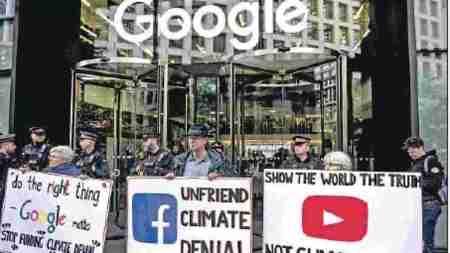 Google'dan iklim değişikliğini reddeden içerikler için reklamı yasağı