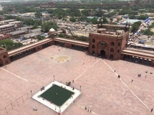 Main square of Jama Mosque
