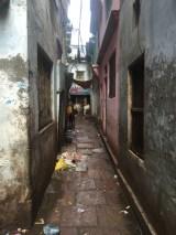 Typical laneway in Varanasi Old Town