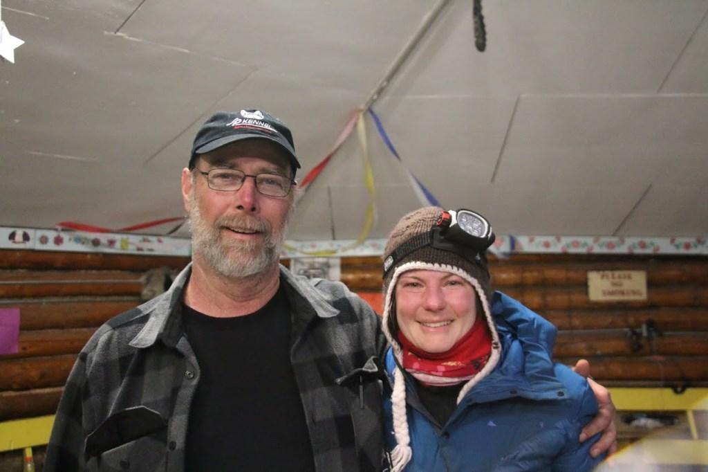 Mar Greene and I in Kaltag. Photo Mark Greene