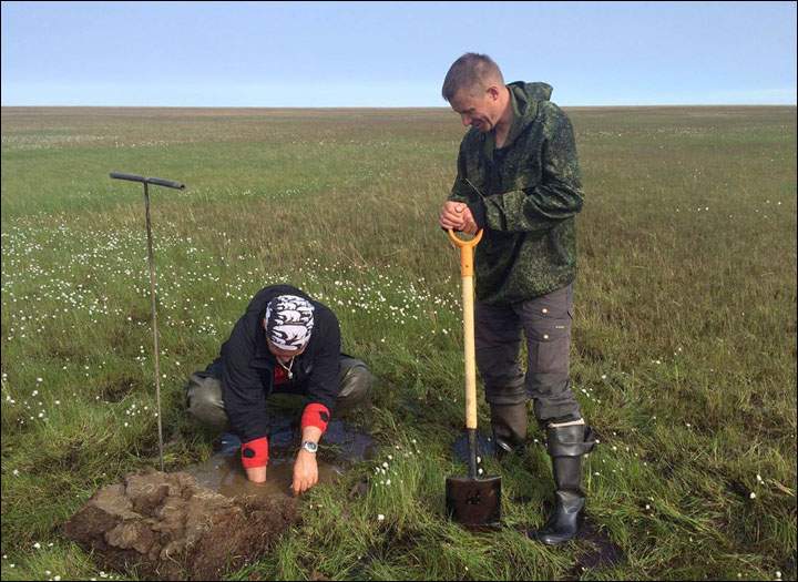 Now the proof: permafrost 'bubbles' are leaking methane 200 times above the norm