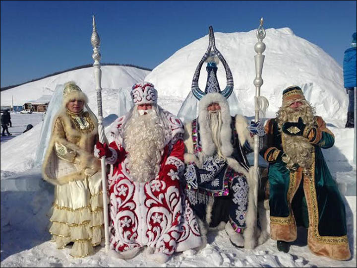 Merry Western Christmas From Siberia Where Santa Is Not
