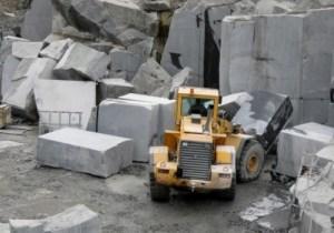 гранит добыча блоки