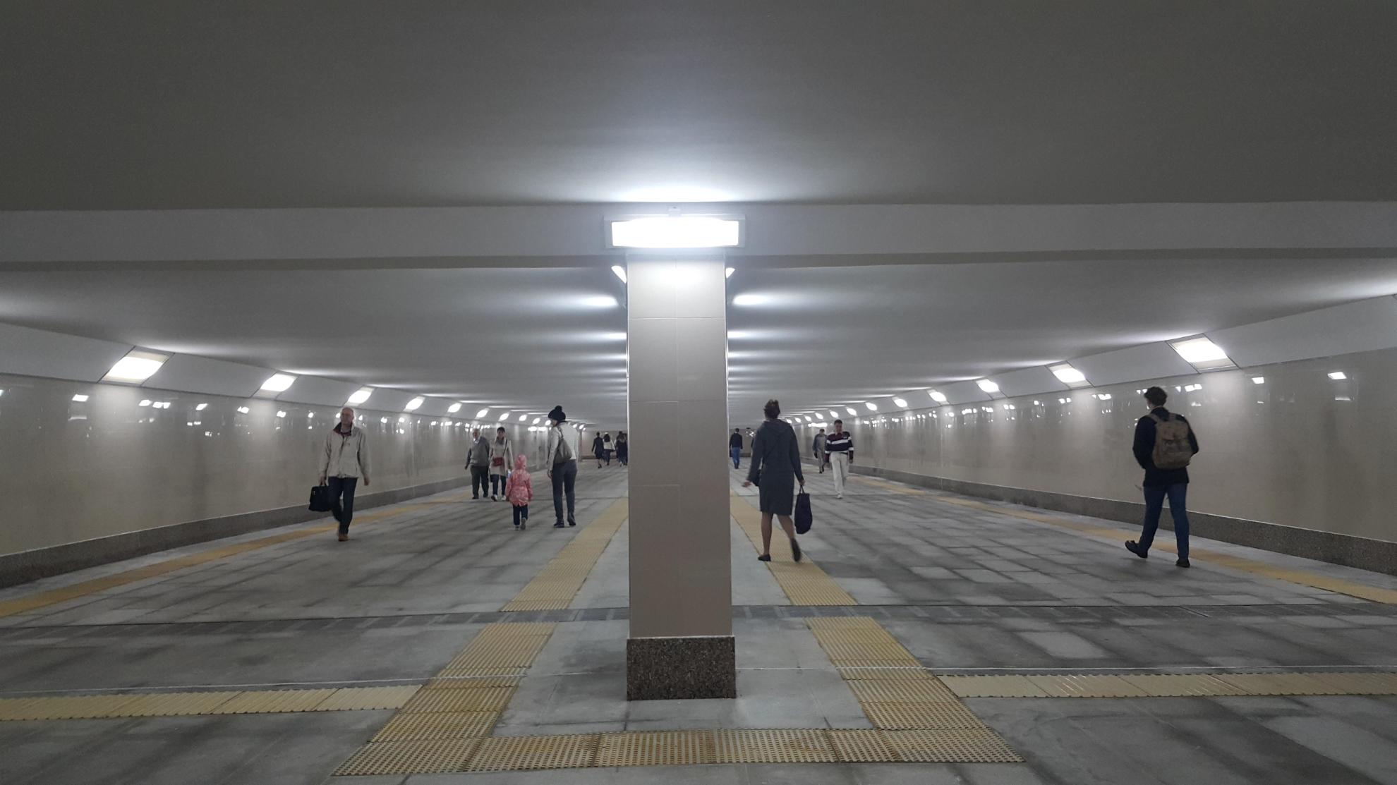 Подземный переход между станциями метро «Динамо» и «Петровский парк»