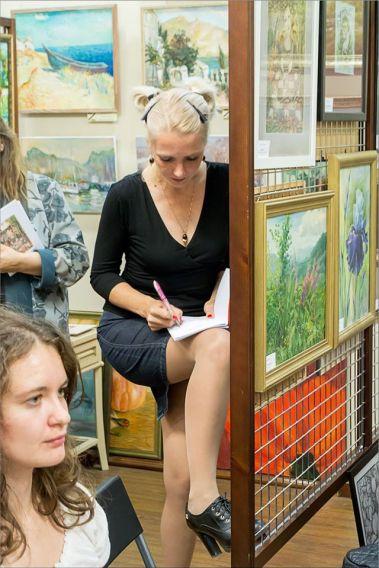 Презентация книжки Елены Берсенёвой. Фото Александра Симушкина