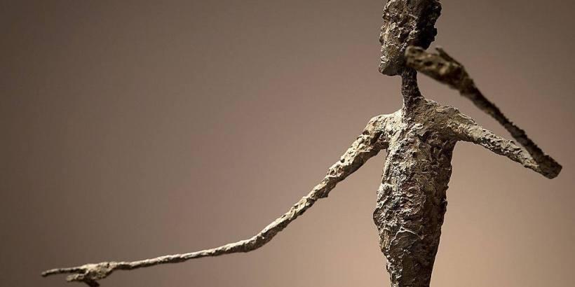 Alberto Giacometti. Man pointing (Альберто Джакометти. «Указующий человек»)