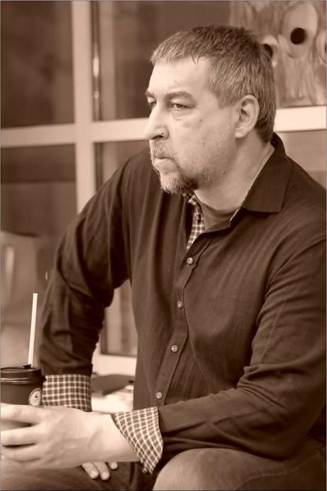 Роман Шамолин. Открытая дискуссия: «Судьба новаторского искусства в Новосибирске». Фото Александра Симушкина