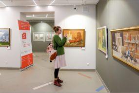 Выставка Сергея Меньшикова. Фото Александра Симушкина