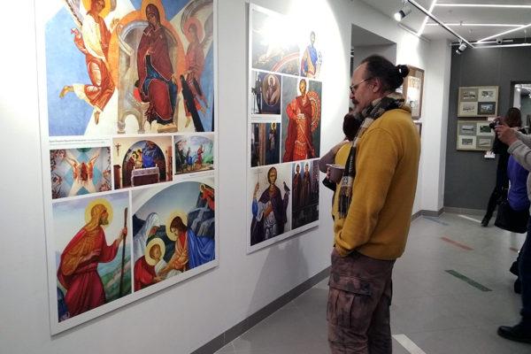 Выставка Сергея Меньшикова