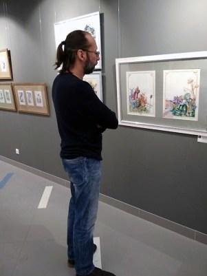 Выставка Сергея Меньшикова. Фото Елены Берсенёвой