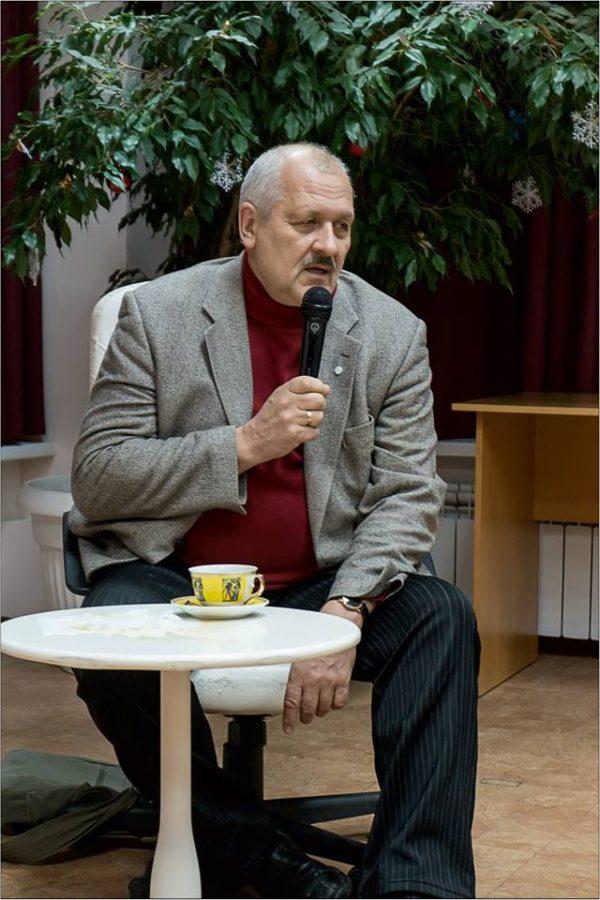 Профессор Н.С.Розов. Фото Александра Симушкина