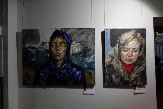 Выставка Евгении Шадриной-Шестаковой. Фото Александра Симушкина
