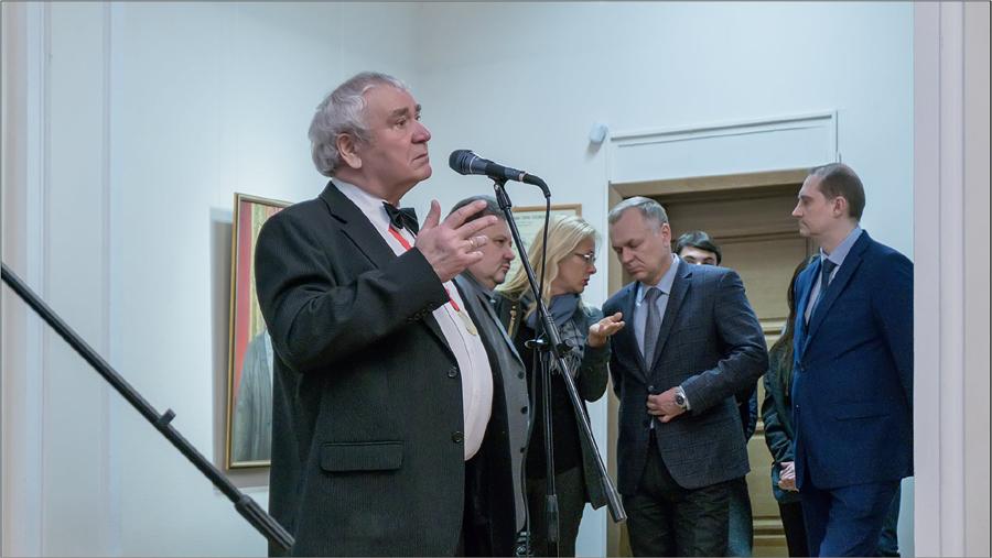 Выставка Михаила Омбыш-Кузнецова