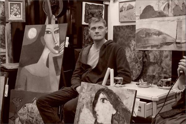 Встреча с художником Олегом Шелудяковым