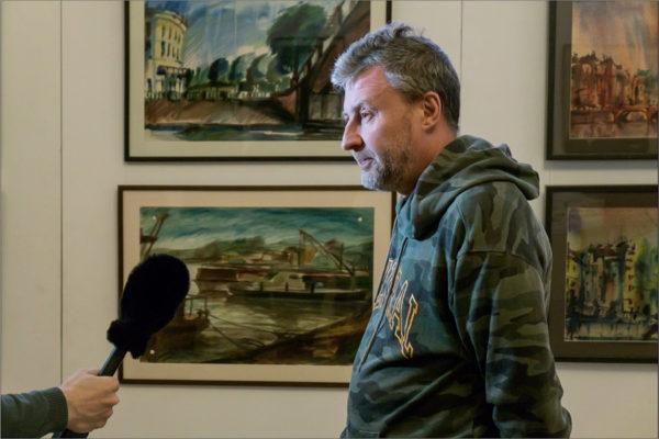 Выставки Вячеслава Мизина и Грациано Аричи