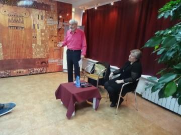 Встреча с Геннадием Прашкевичем. Фото Софьи Самохиной