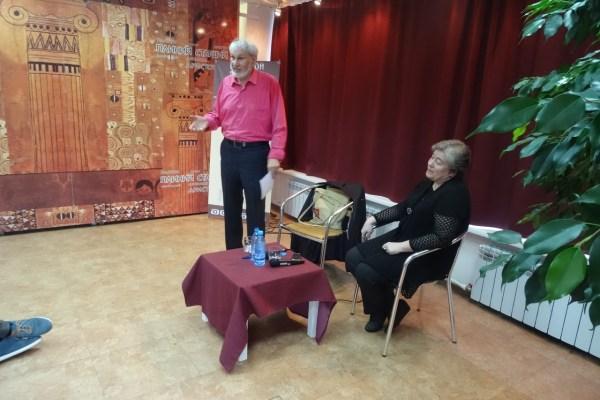 Презентация книги Геннадия Прашкевича «Муссолини»