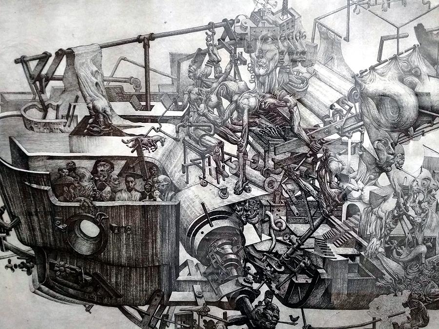 Открытие триеннале современной графики
