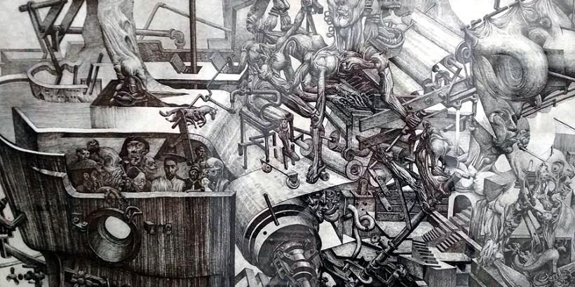 Триеннале современной графики. Фото Елены Берсенёвой