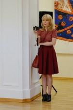 Елена Берсенёва. Выставка Евгения Дорохова. Фото Александра Симушкина