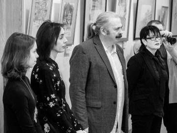 Выставка Михаила Паршикова в НГОНБ. Фото Алексея Школдина