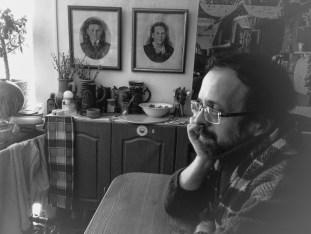 В мастерской художника Валерия Кузнецова. Фото Елены Берсенёвой