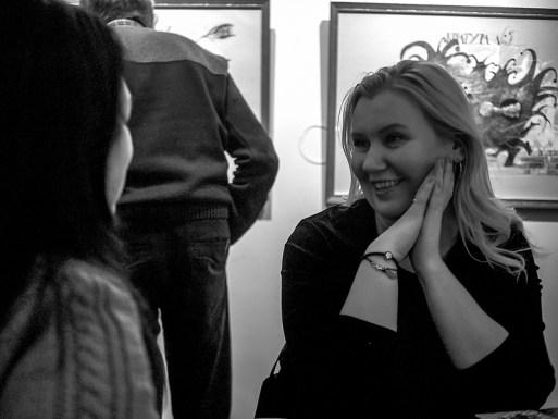 Выставка Сергея Мосиенко в Гостиной Союза художников. Фото Елены Берсенёвой