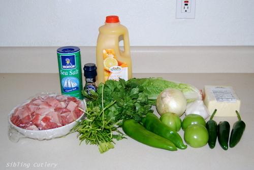 GreenPorkIngredients