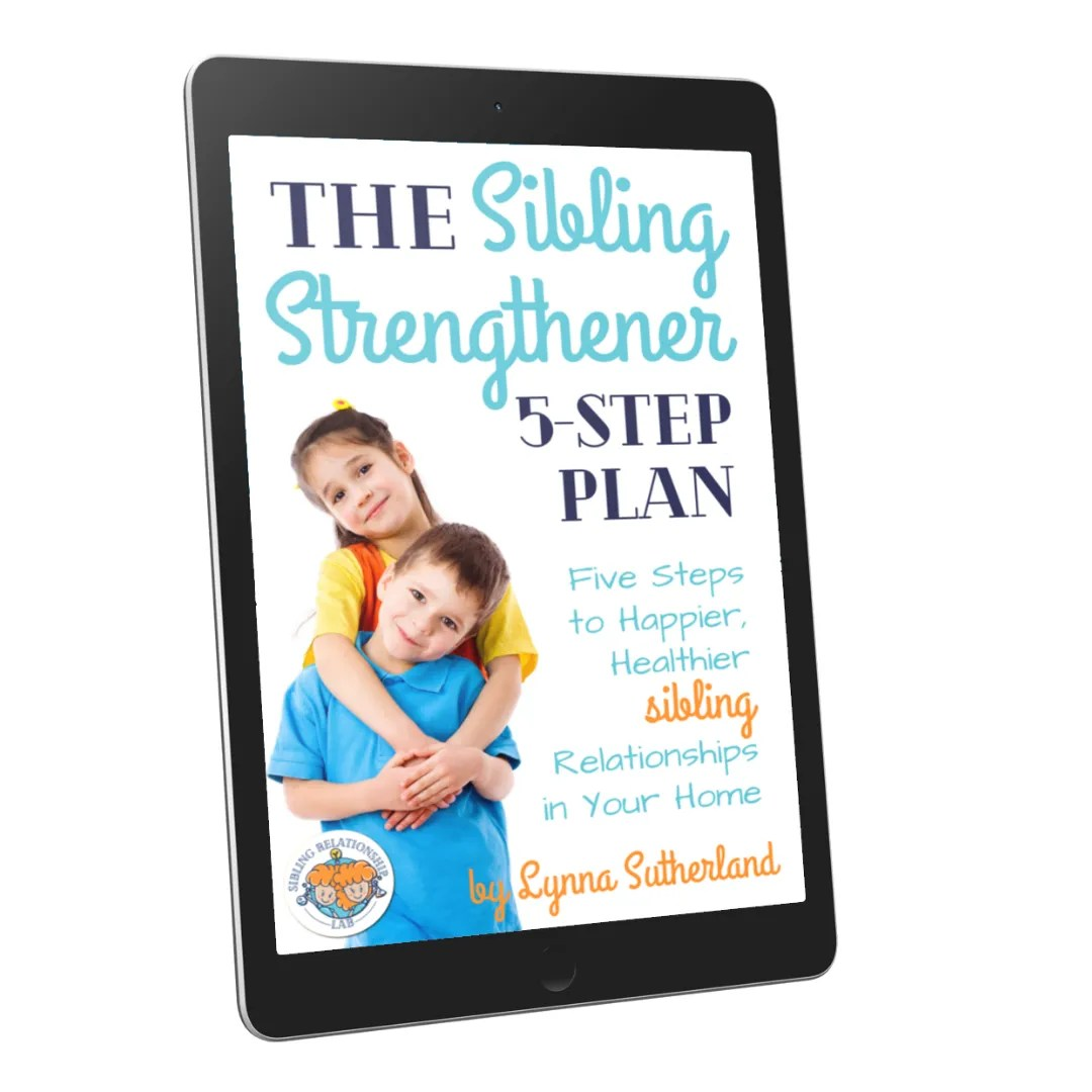 5 Step Sibling Relationship Building Activities Printables