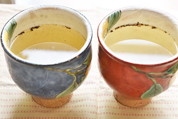 梅しそ茶夫婦茶碗